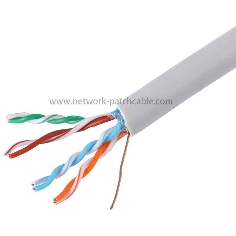 305m Unshielded Cat5e FTP Cable RoHS Single Jacket 100Base-TX