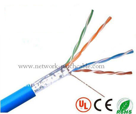 CCA Lan Cable Telecommunication Network FTP Ethernet Cable 0.5mm PVC