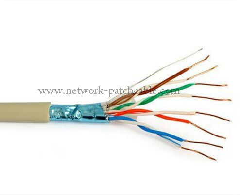 500m Network Cat5e Solid Cable Bare Copper Wire New PVC Jacket
